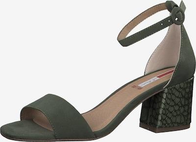 s.Oliver Sandale in dunkelgrün, Produktansicht