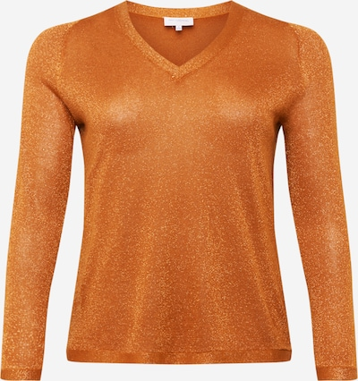ONLY Carmakoma Pull-over en orange, Vue avec produit