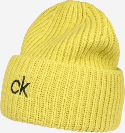Calvin Klein Čiapky - limetková / čierna, Produkt
