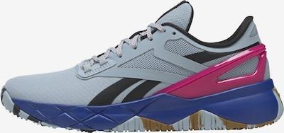 Reebok Sport Running Shoes 'Nanoflex' in Smoke blue / Fuchsia / Black, Item view
