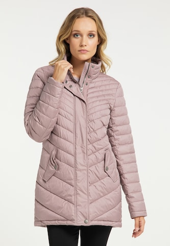 DreiMaster Klassik Mantel in Pink