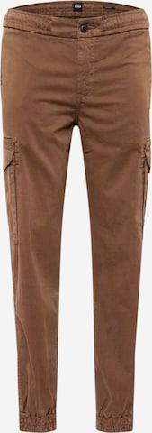 BOSS Casual Klapptaskutega püksid 'Seiland', värv roheline