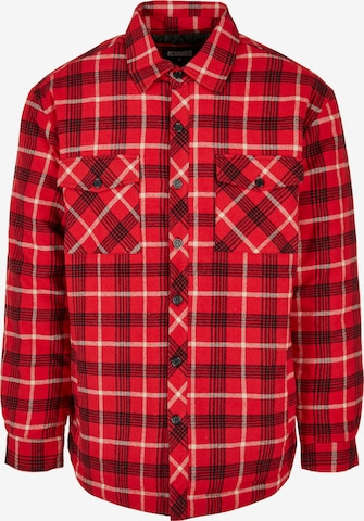 Urban Classics Between-Season Jacket in Red