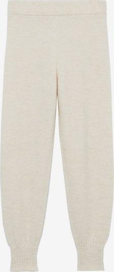 MANGO Spodnie w kolorze cielistym, Podgląd produktu