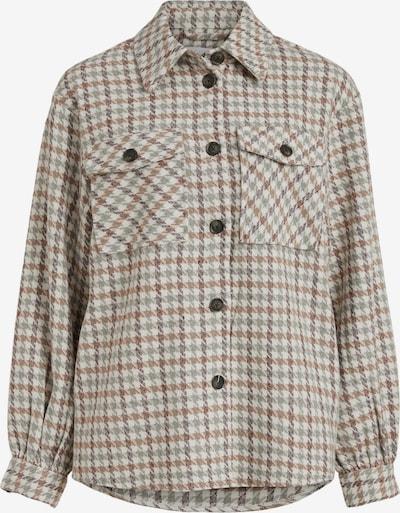VILA Between-Season Jacket 'Indiana' in Cream / Chamois / Smoke grey / Black, Item view