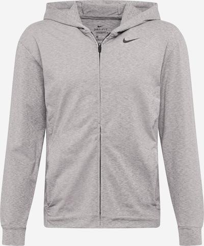 Bluză cu fermoar sport 'Hyper Dry' NIKE pe gri amestecat, Vizualizare produs