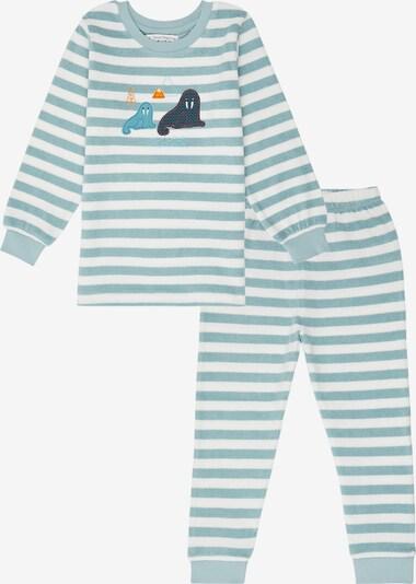 Sense Organics Pajamas 'JOHN' in Light blue / White, Item view
