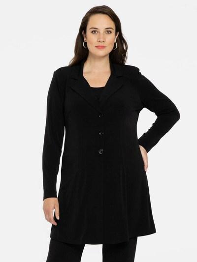 Yoek Blazer 'DOLCE' in schwarz, Modelansicht