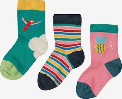 Frugi Socks in Blue / Yellow / Green / Pink / White, Item view