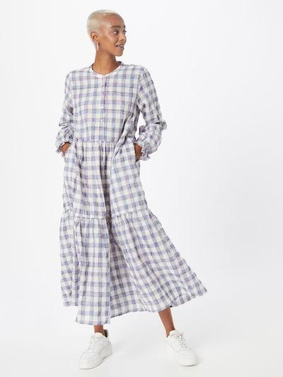 Lollys Laundry Kleid 'Natalia' in marine / hellblau / hellpink / weiß, Modelansicht