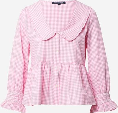 FRENCH CONNECTION Bluse 'ARTINA' in pink / weiß, Produktansicht