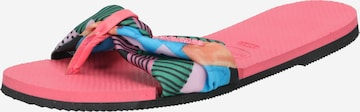 HAVAIANAS T-Bar Sandals in Pink