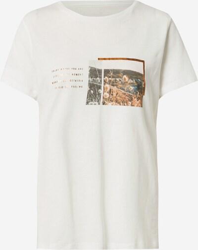 TOM TAILOR Majica u zlatna / miks boja / bijela, Pregled proizvoda