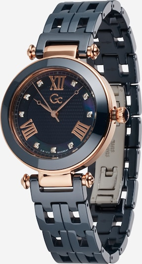 Gc Analog watch 'PrimeChic' in dark blue / rose gold / white, Item view