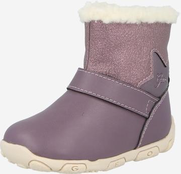 GEOX Čižmy 'Balu' - fialová
