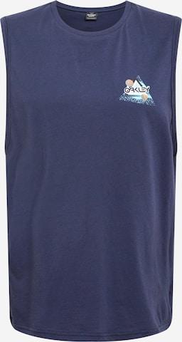 T-Shirt fonctionnel 'SPACE POLYGON' OAKLEY en bleu
