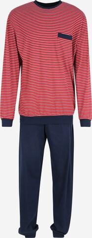 SCHIESSERDuga pidžama - crvena boja