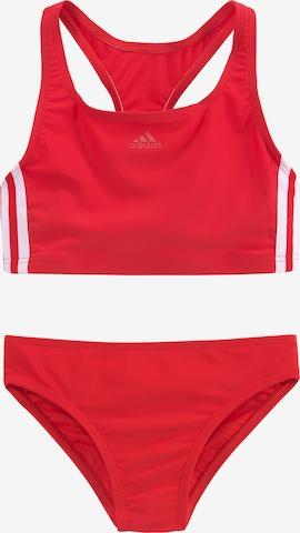 ADIDAS PERFORMANCE Sports swimwear in Red