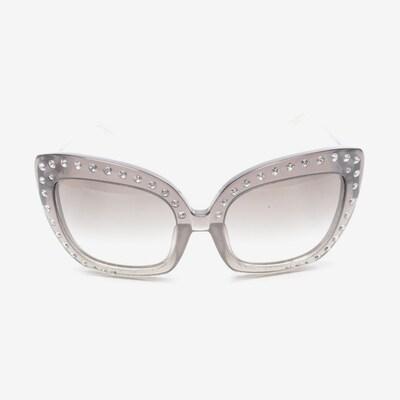 N°21 Sonnenbrille in One Size in grau, Produktansicht
