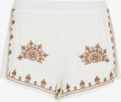 usha FESTIVAL Trousers in Brown / White, Item view