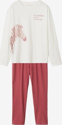 MANGO KIDS Schlafanzug 'QUEENZ' in Rot