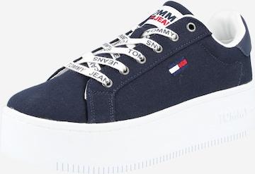 Sneaker low de la Tommy Jeans pe albastru