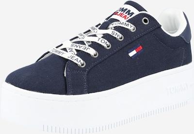Tommy Jeans Ниски сникърси в нейви синьо / светлочервено / бяло, Преглед на продукта
