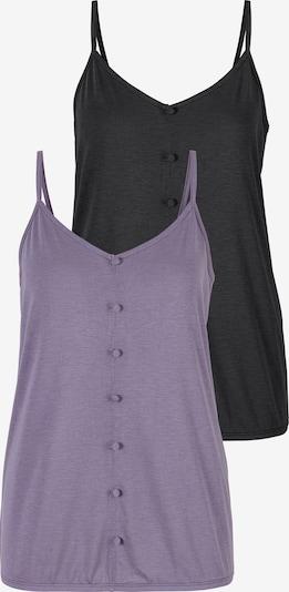 VIVANCE Haut en violet clair / noir, Vue avec produit