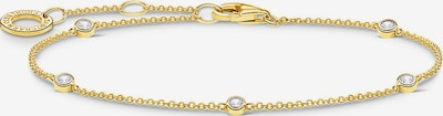 Thomas Sabo Armband in gold / silber / transparent, Produktansicht