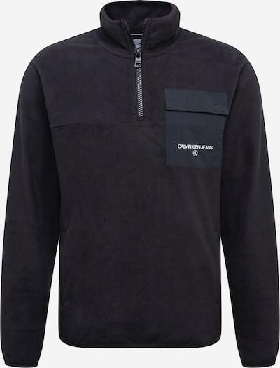Calvin Klein Jeans Sweatshirt 'POLAR' in schwarz, Produktansicht