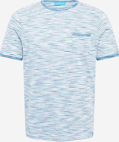 COLOURS & SONS T-shirt 'Mario' i blå / turkos / vit, Produktvy
