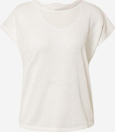 ONLY T-shirt 'ONLCELINE' en blanc, Vue avec produit