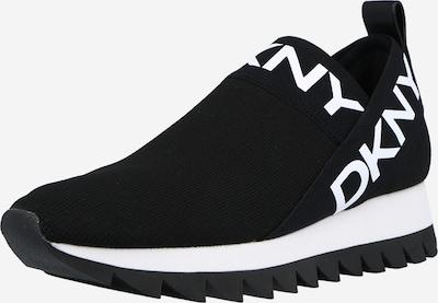 DKNY Slip-on 'ASHTON' σε μαύρο / λευκό, Άποψη προϊόντος