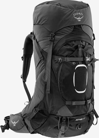 Osprey Sportrucksack 'Aether 55' in grau / schwarz, Produktansicht