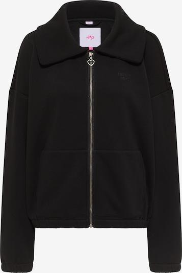 MYMO Zip-Up Hoodie in Black, Item view