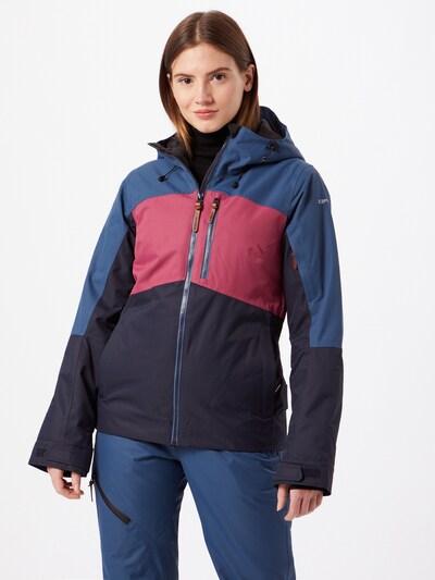 ICEPEAK Sportfunktionsjacke 'Kate' in hellblau / dunkelblau / rosa, Modelansicht