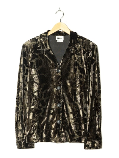 Leslie Fay Bluse in L-XL in tanne, Produktansicht