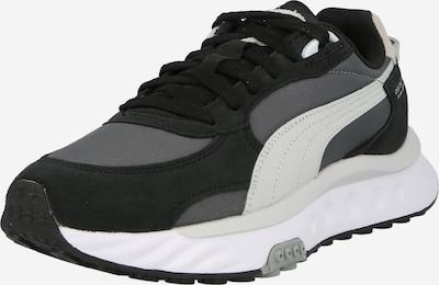 világosszürke / sötétszürke / fekete PUMA Rövid szárú edzőcipők, Termék nézet