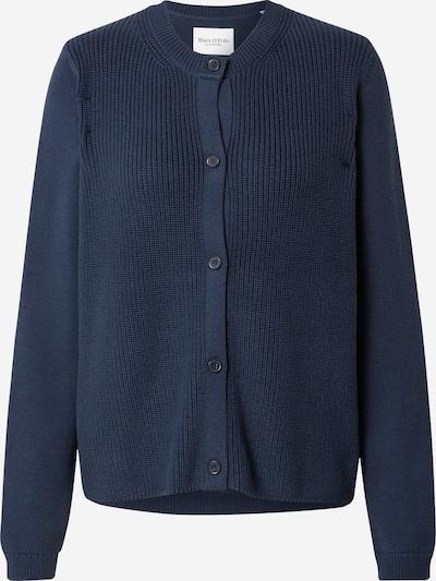 Marc O'Polo Strickjacke in dunkelblau, Produktansicht