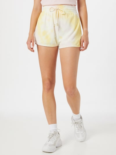 sárga / fehér River Island Nadrág, Modell nézet