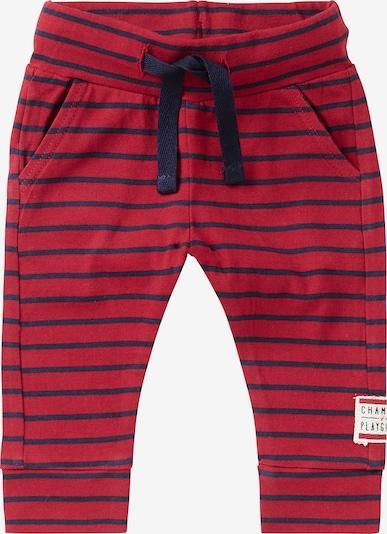 Noppies Broek 'Soweto' in de kleur Marine / Rood, Productweergave