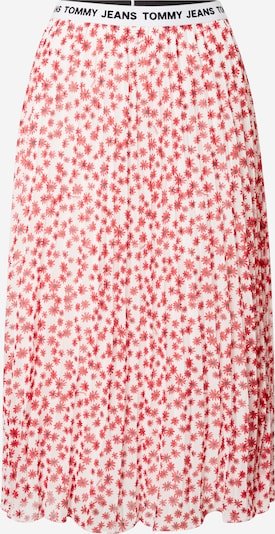 Tommy Jeans Rock in rot / weiß, Produktansicht