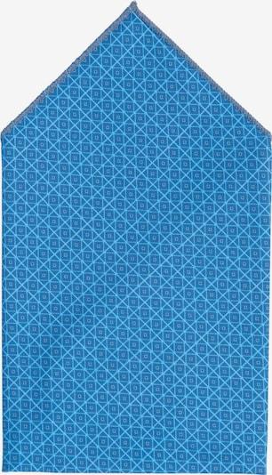 Hans Hermann Einstecktuch in blau / hellblau, Produktansicht