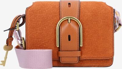 FOSSIL Wiley Umhängetasche Leder 19 cm in braun / pink, Produktansicht