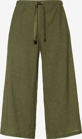 Studio Untold Culottes in khaki: Frontalansicht