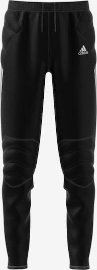 ADIDAS PERFORMANCE Torwarthose 'Tierro' in schwarz / weiß: Frontalansicht