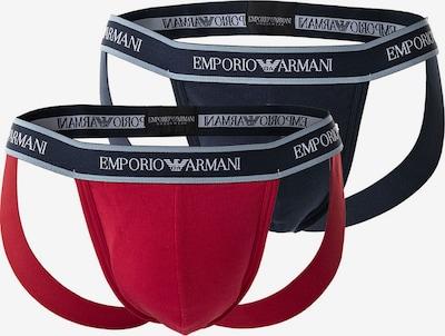 Emporio Armani Slip en bleu / bleu ciel / lie de vin / blanc, Vue avec produit