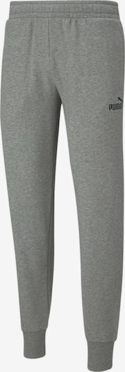 PUMA Sportbroek in de kleur Grijs / Zwart / Wit, Productweergave