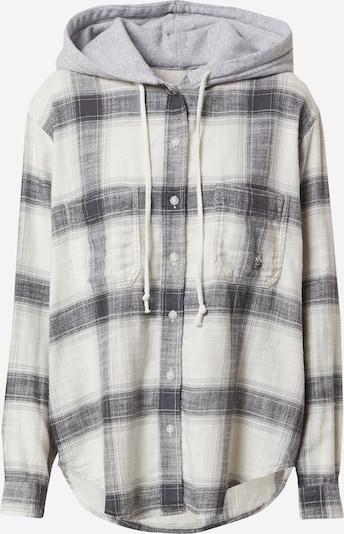 American Eagle Bluza 'PERCY' u siva melange / crna / bijela, Pregled proizvoda