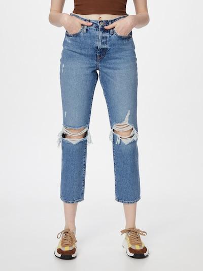 Jeans 'FINE' ONLY pe albastru denim, Vizualizare model